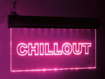 EUROLITE LED Sign Chillout, RGB