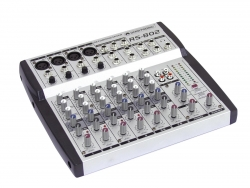 OMNITRONIC RS-802 Recording-Mixer