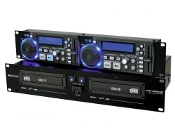 OMNITRONIC XMP-2800MT Dual-CD-/MP3-Player