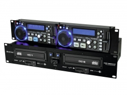 OMNITRONIC XDP-2800MT Dual-CD-/MP3-Player
