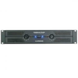 AMERICAN AUDIO - VLP 2500 - Analog Endstufe 1300W RMS je Kanal an 4Ohm