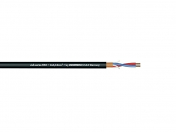 SOMMER CABLE Mikrofonkabel 2x0,34 100m sw CLUB SERIES